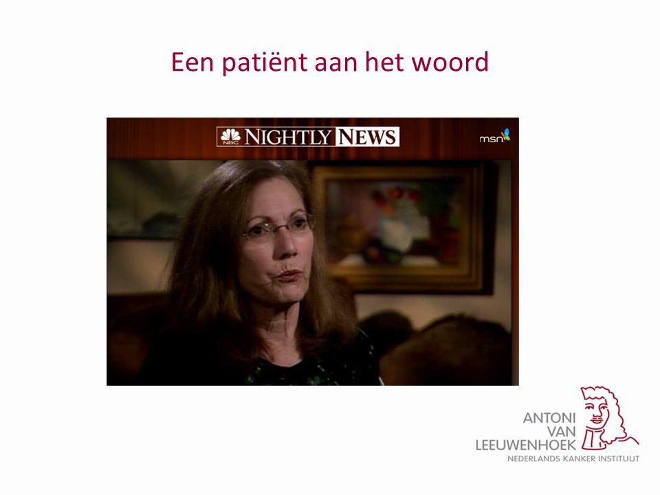Een patiënt aan het woord