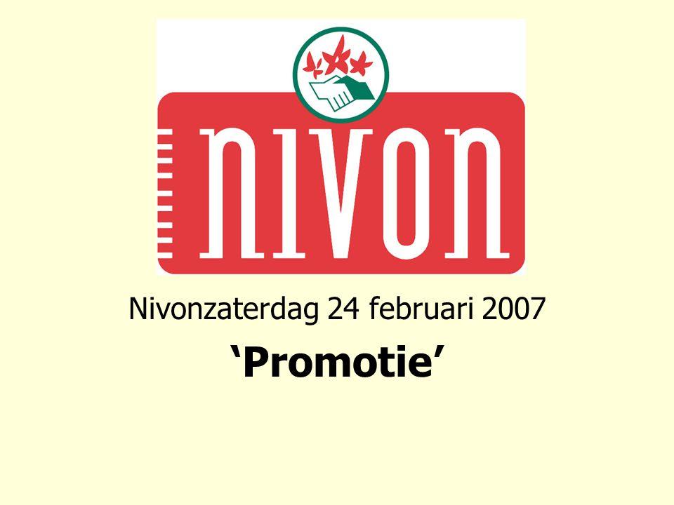 Nivonzaterdag 24 februari 2007 'Promotie'