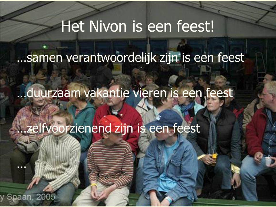 Het Nivon is een feest! …samen verantwoordelijk zijn is een feest