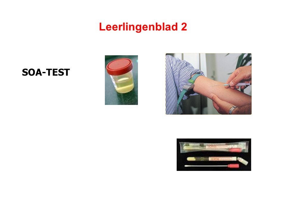 Leerlingenblad 2 SOA-TEST