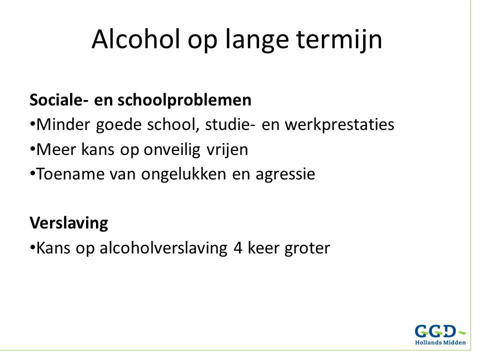 Alcohol op lange termijn