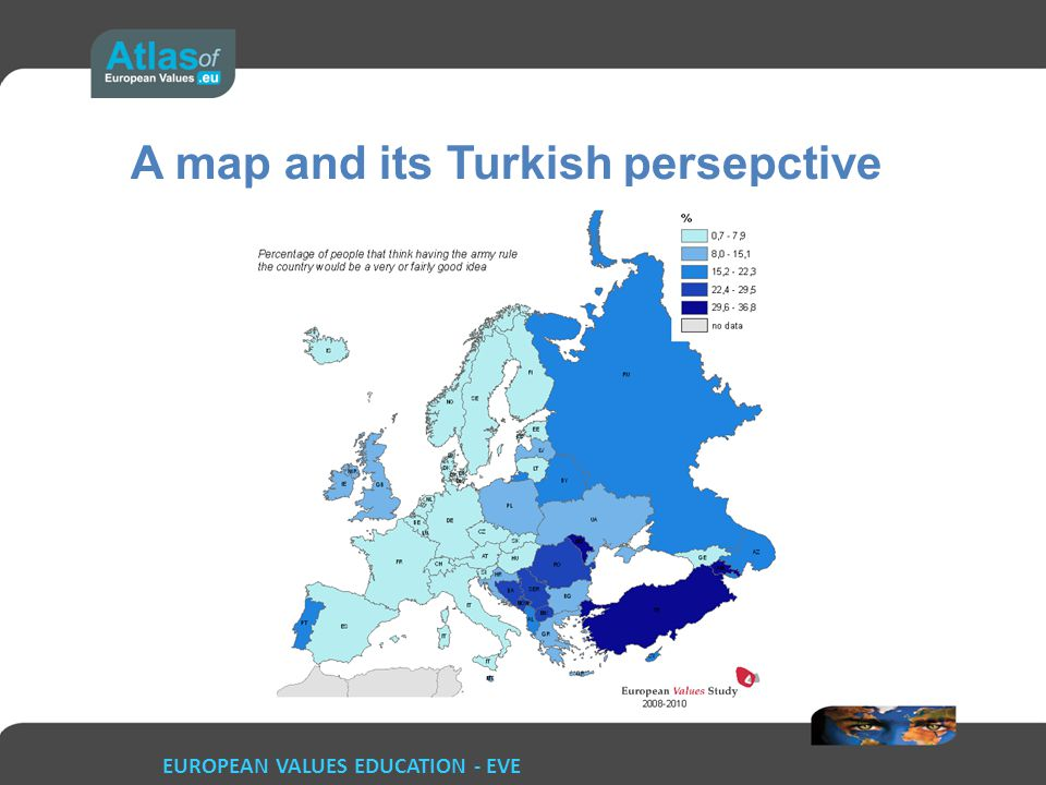 A map and its Turkish persepctive