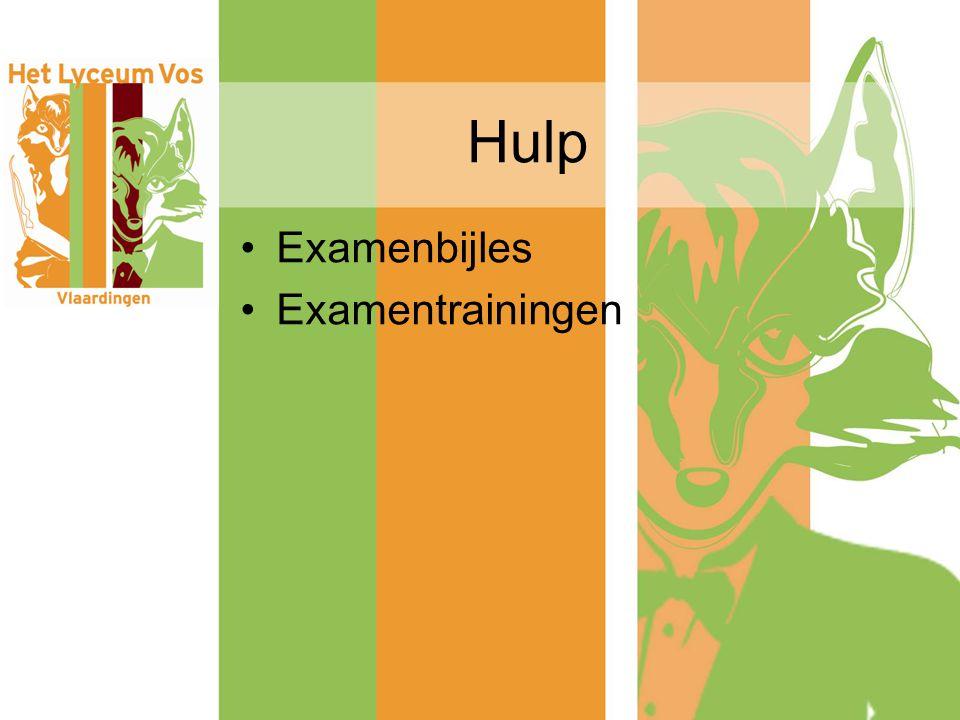 Hulp Examenbijles Examentrainingen