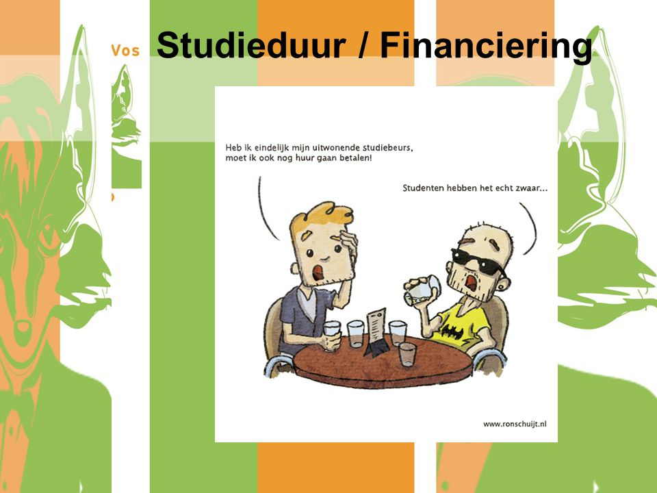 Studieduur / Financiering