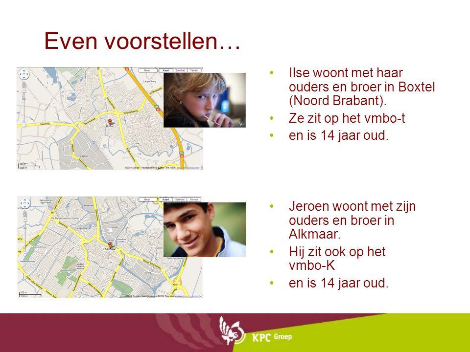 Even voorstellen… Ilse woont met haar ouders en broer in Boxtel (Noord Brabant). Ze zit op het vmbo-t.