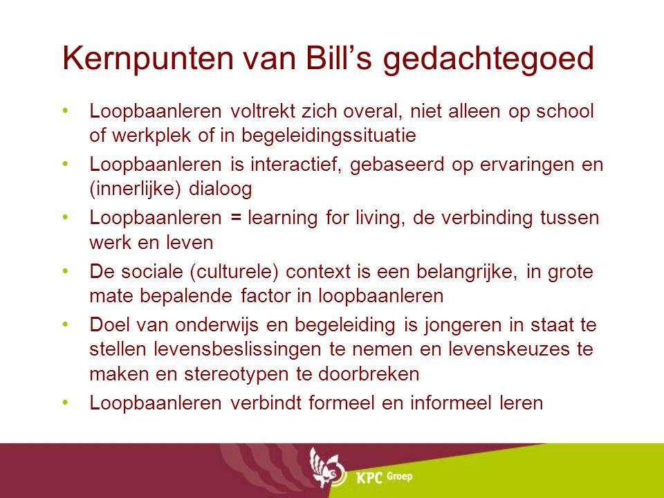 Kernpunten van Bill's gedachtegoed