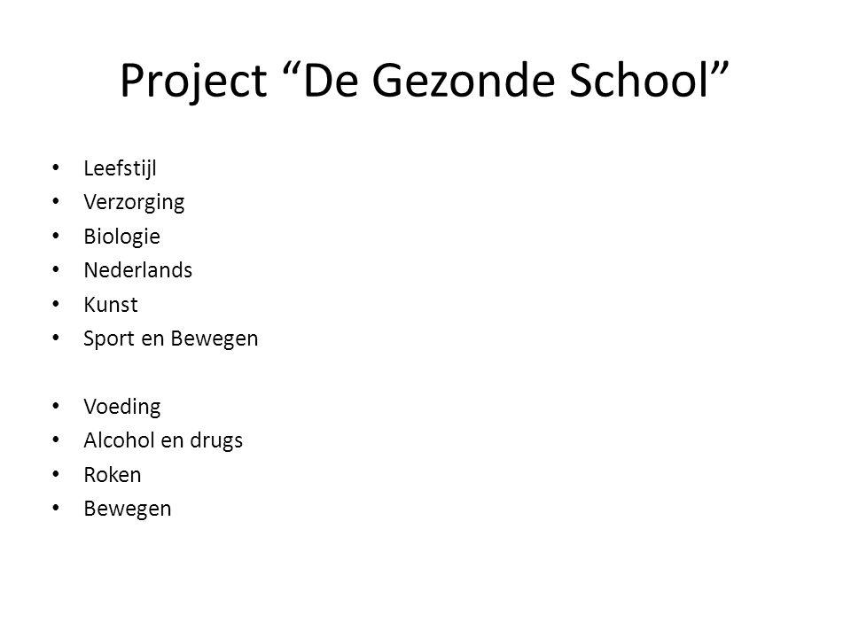 Project De Gezonde School