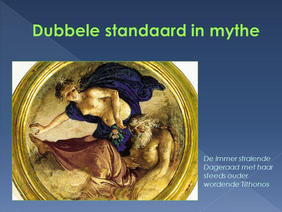 Dubbele standaard in mythe