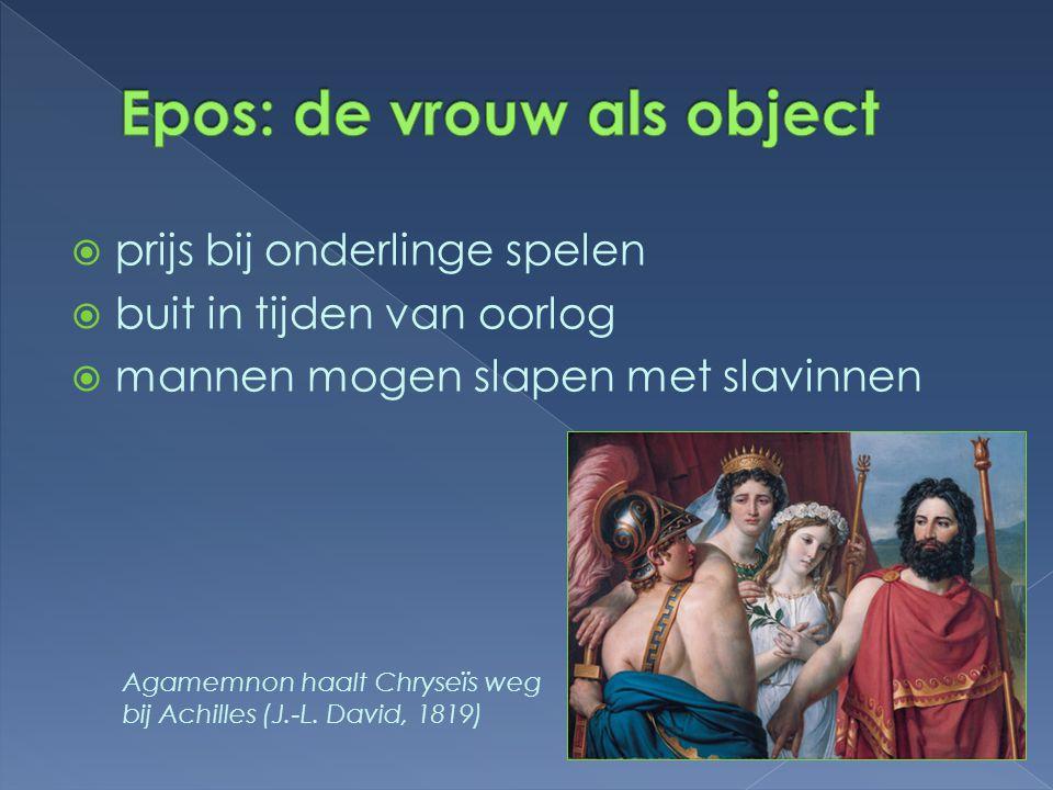 Epos: de vrouw als object