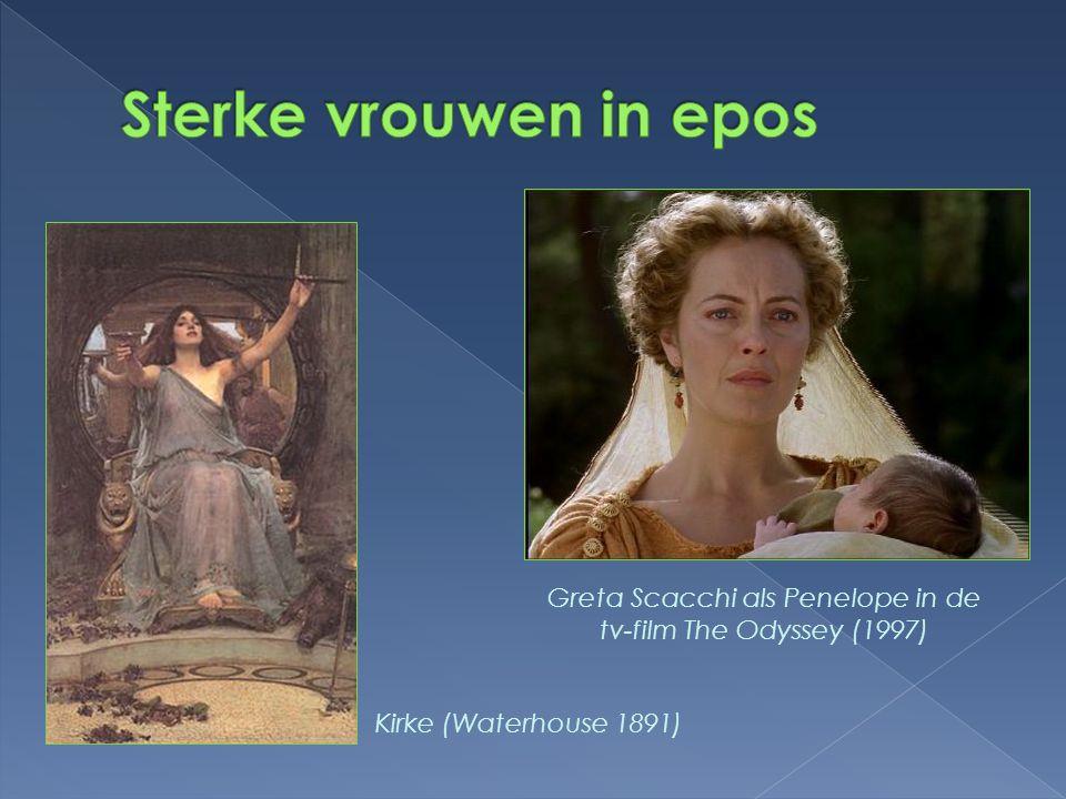 Greta Scacchi als Penelope in de tv-film The Odyssey (1997)