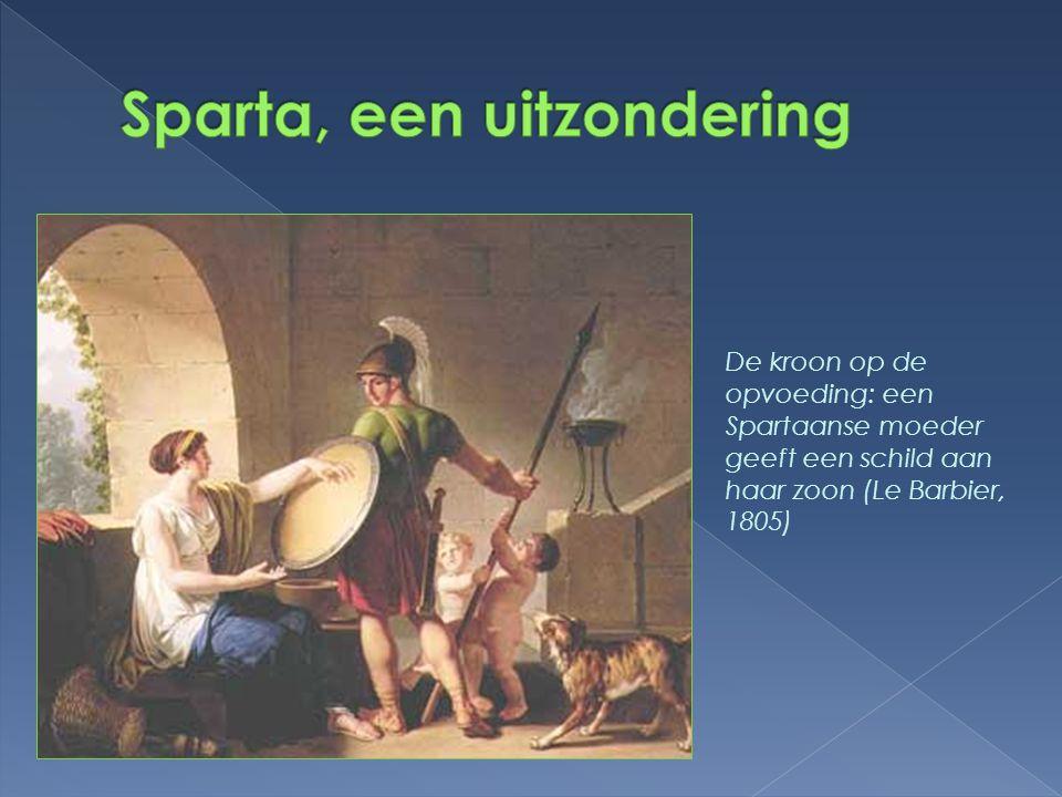 Sparta, een uitzondering