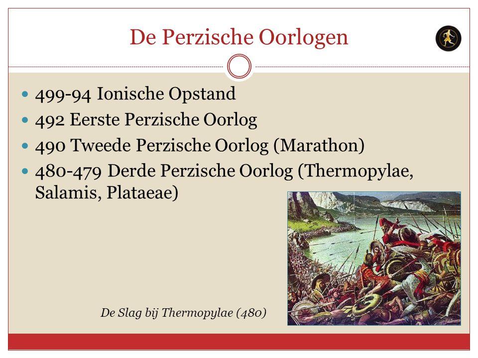 De Perzische Oorlogen 499-94 Ionische Opstand