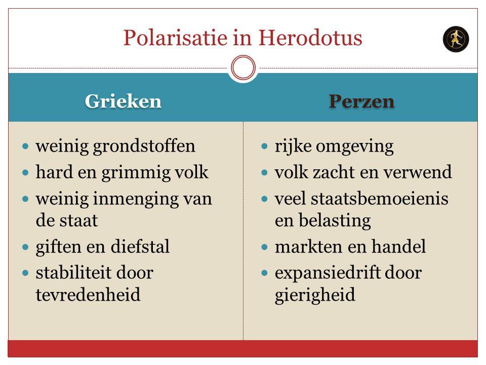 Polarisatie in Herodotus