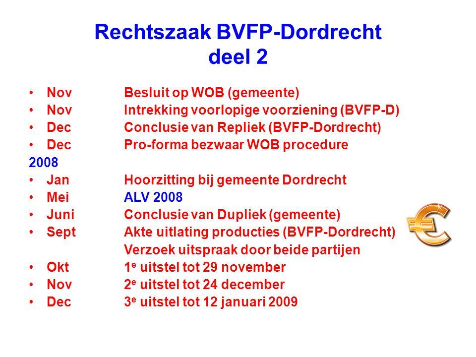 Rechtszaak BVFP-Dordrecht deel 2