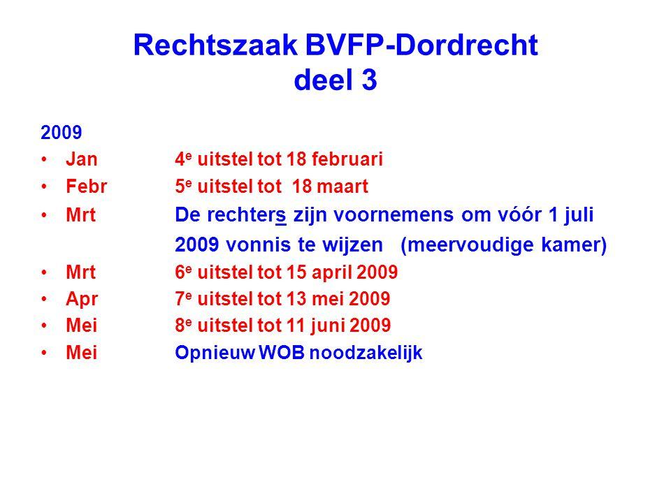 Rechtszaak BVFP-Dordrecht deel 3