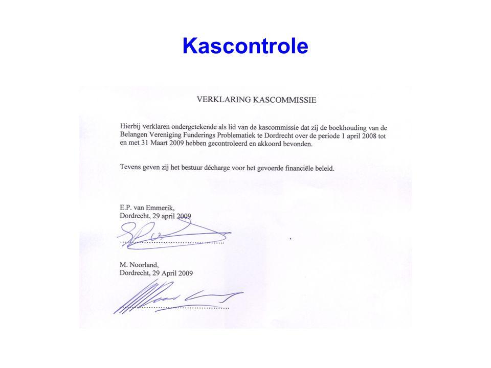 Kascontrole