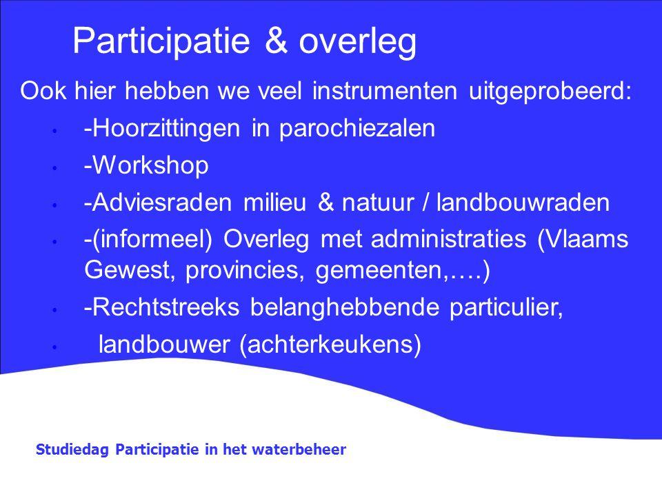 Participatie & overleg