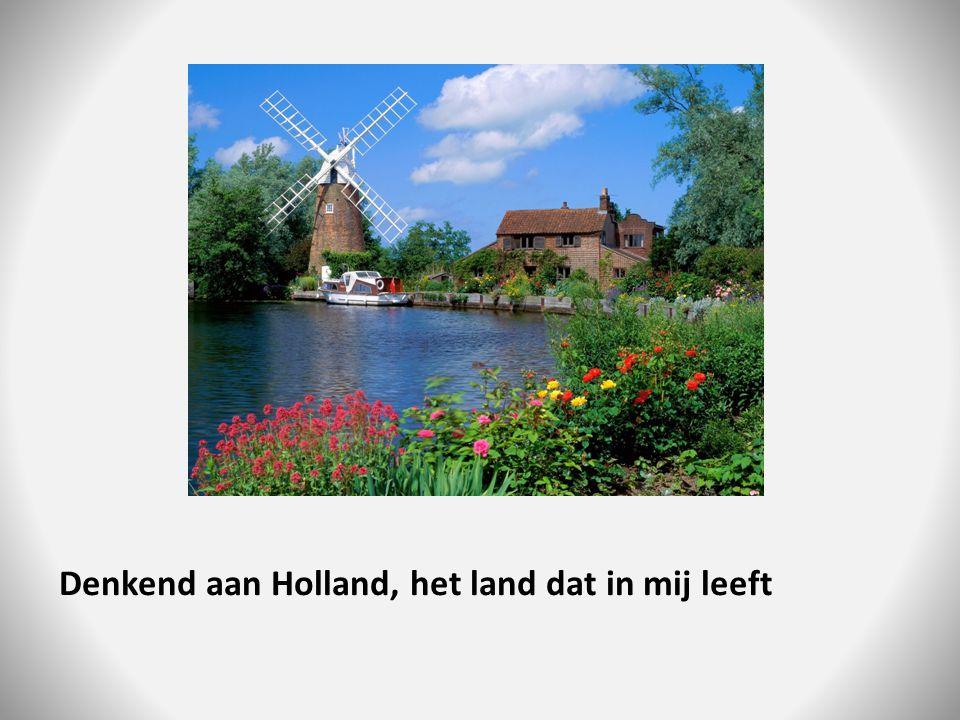 Denkend aan Holland, het land dat in mij leeft