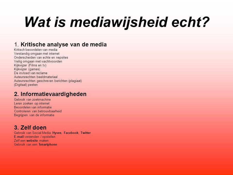 Wat is mediawijsheid echt