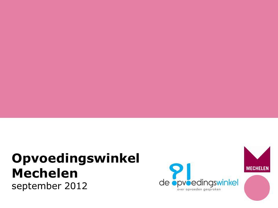 Opvoedingswinkel Mechelen september 2012