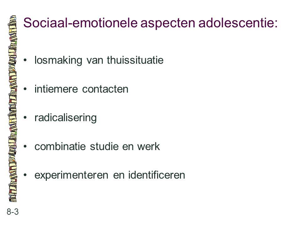 Sociaal-emotionele aspecten adolescentie: