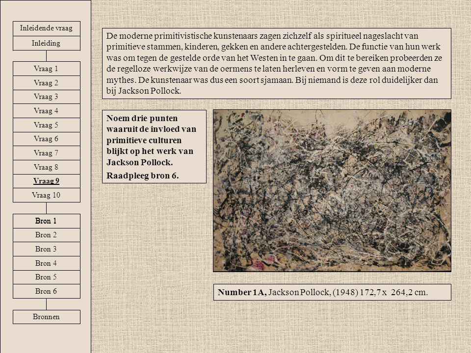 Number 1A, Jackson Pollock, (1948) 172,7 x 264,2 cm.