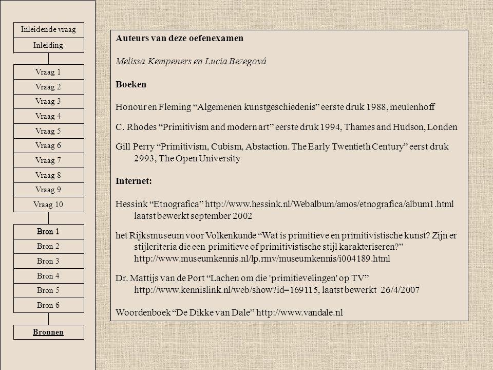 Auteurs van deze oefenexamen Melissa Kempeners en Lucia Bezegová