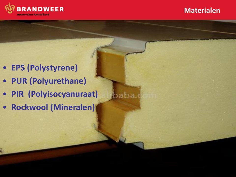 PIR (Polyisocyanuraat) Rockwool (Mineralen)