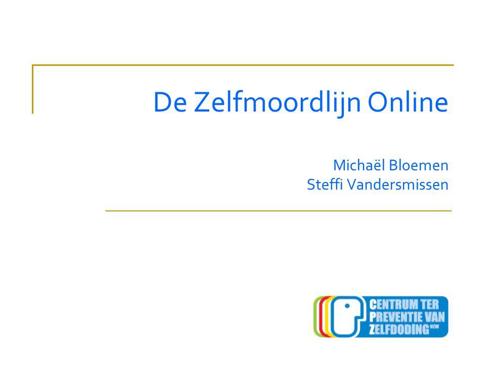 De Zelfmoordlijn Online Michaël Bloemen Steffi Vandersmissen