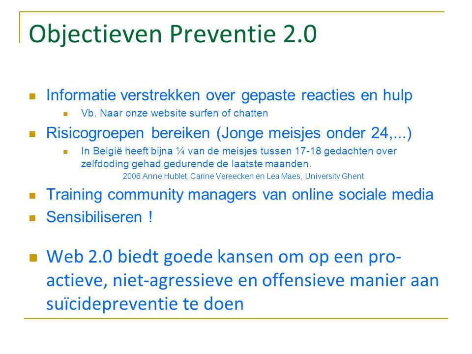Objectieven Preventie 2.0