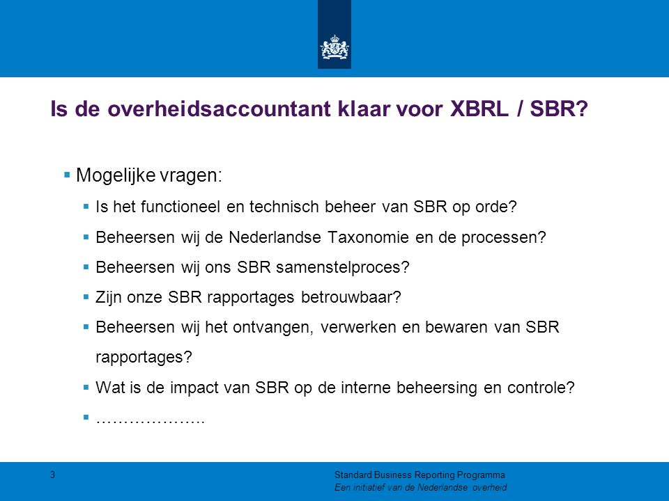 Standard business reporting xbrl us