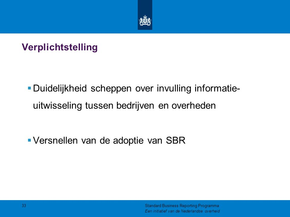 Versnellen van de adoptie van SBR