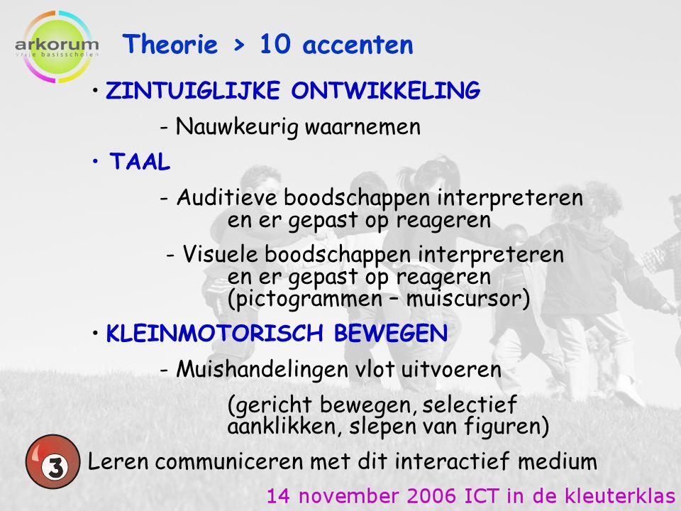 Theorie > 10 accenten ZINTUIGLIJKE ONTWIKKELING