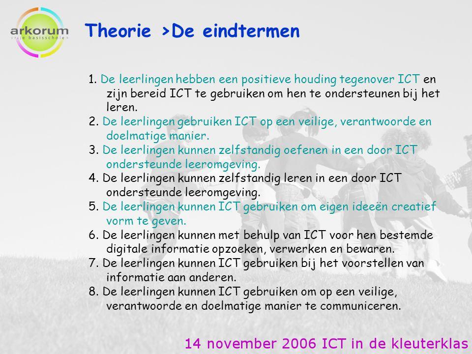 Theorie >De eindtermen