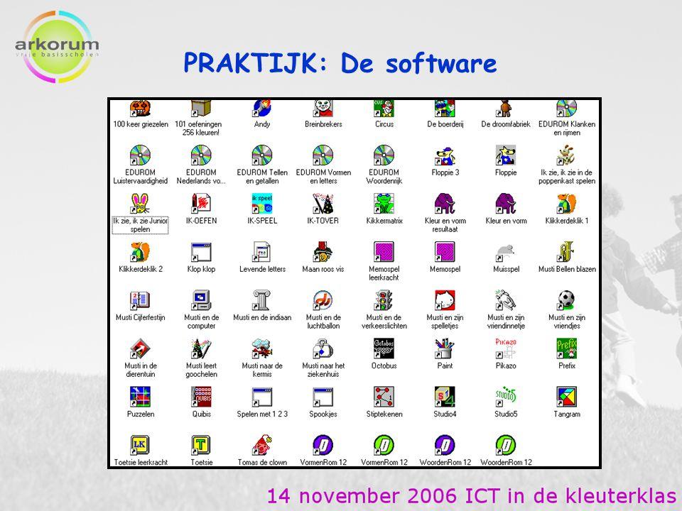PRAKTIJK: De software