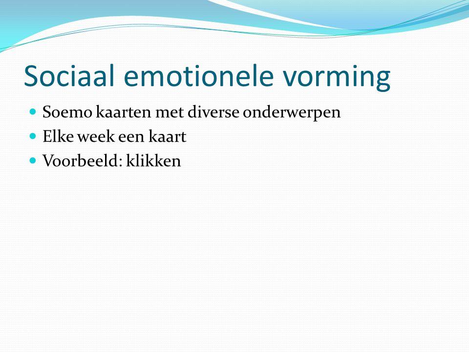 Sociaal emotionele vorming