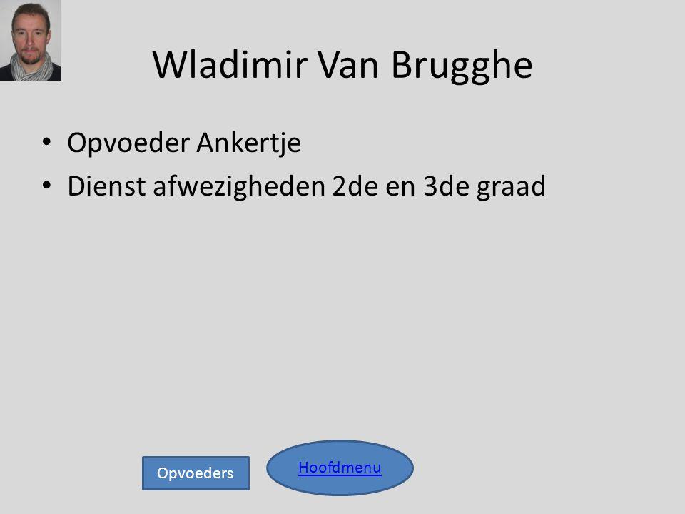 Wladimir Van Brugghe Opvoeder Ankertje