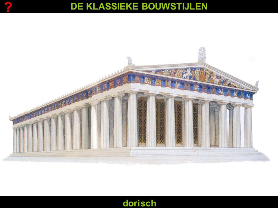 DE KLASSIEKE BOUWSTIJLEN