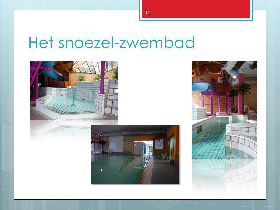 Het snoezel-zwembad