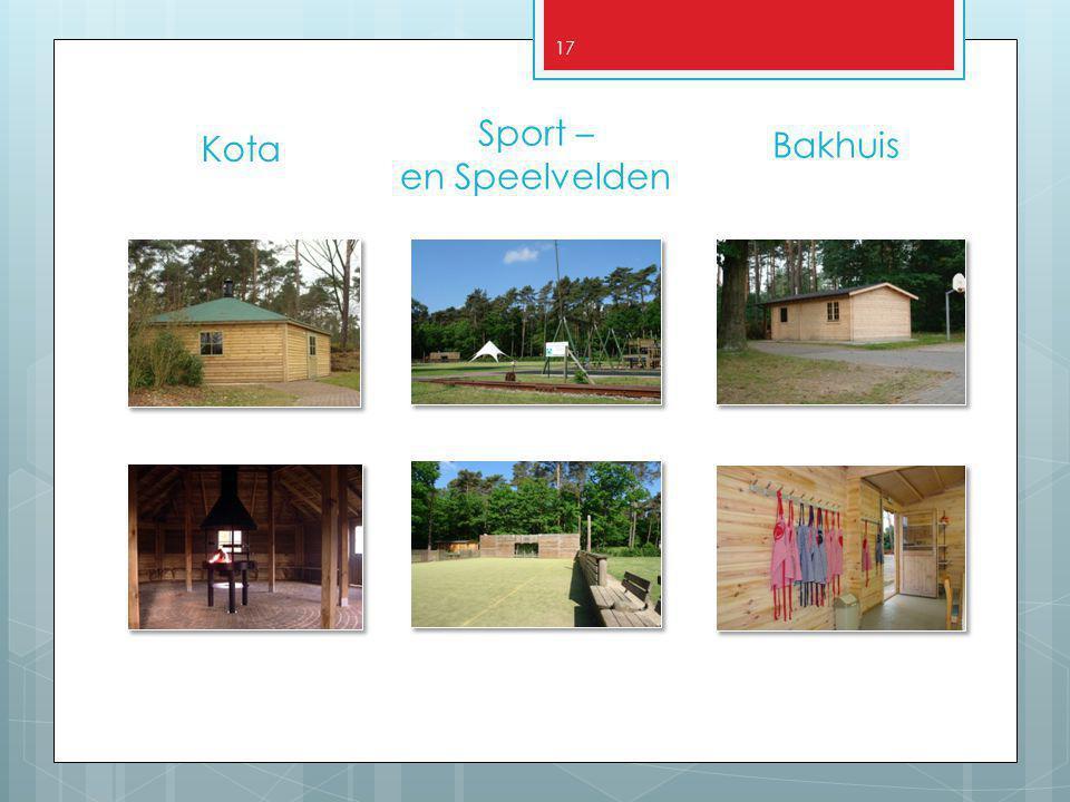 Sport – en Speelvelden Kota Bakhuis