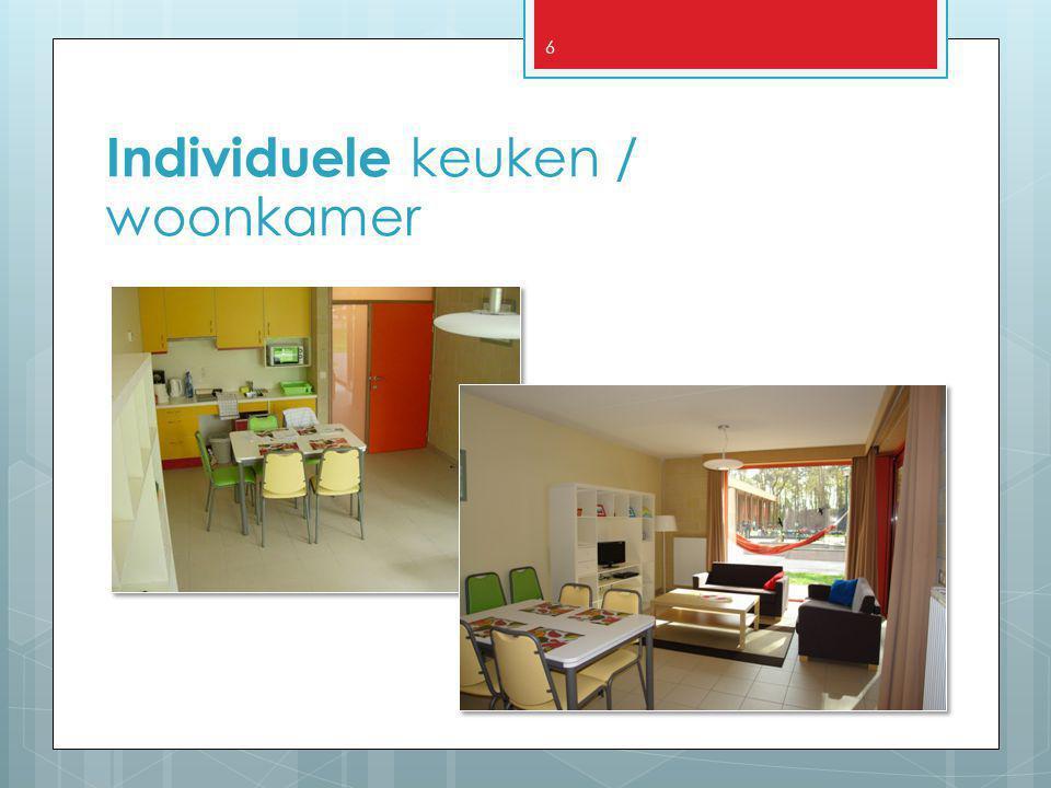 Individuele keuken / woonkamer