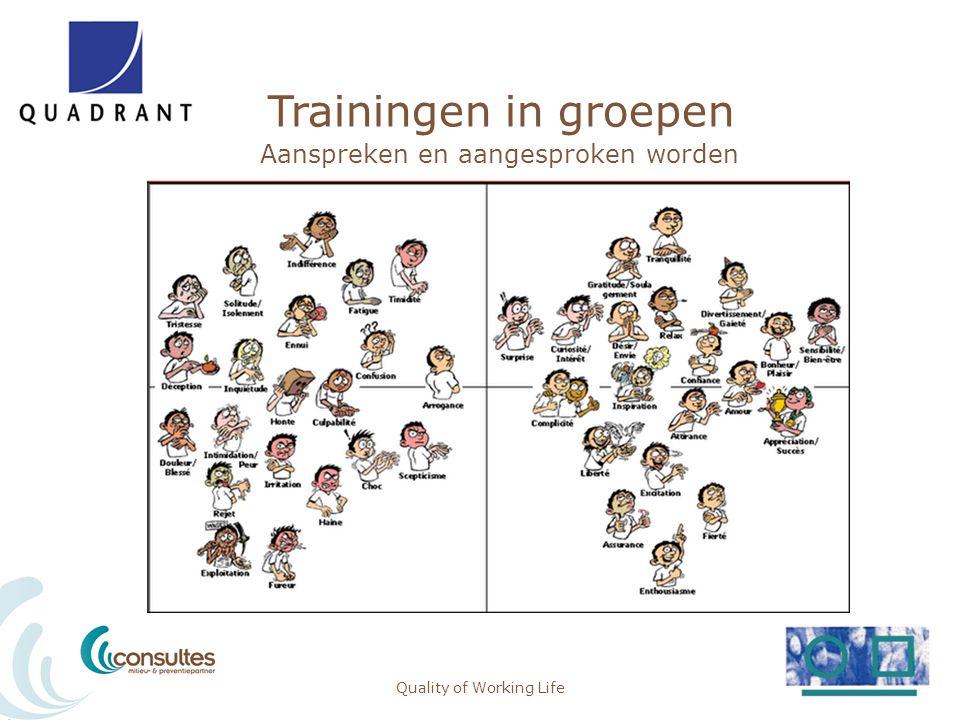 Trainingen in groepen Aanspreken en aangesproken worden