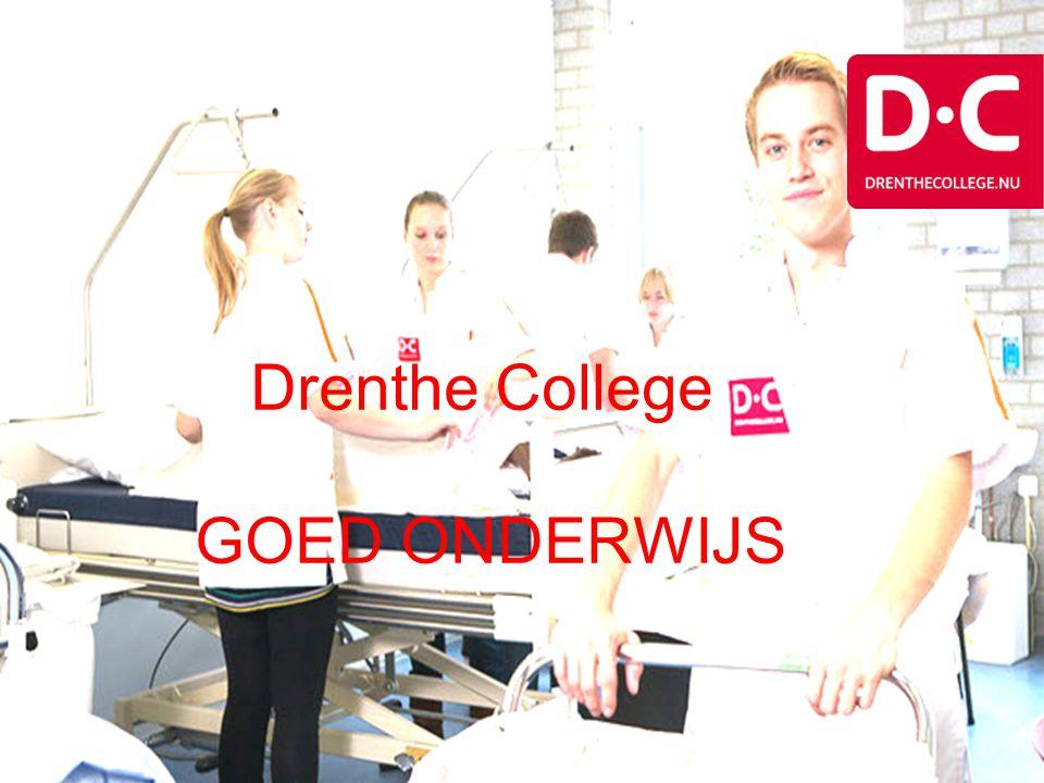 Drenthe College GOED ONDERWIJS