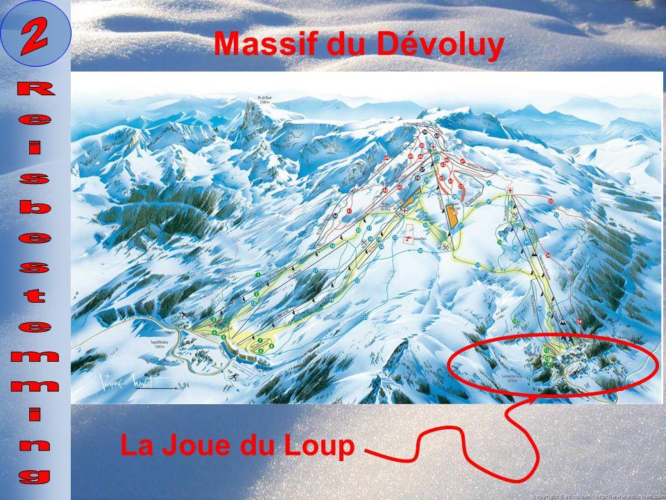 2 Massif du Dévoluy Reisbestemming La Joue du Loup