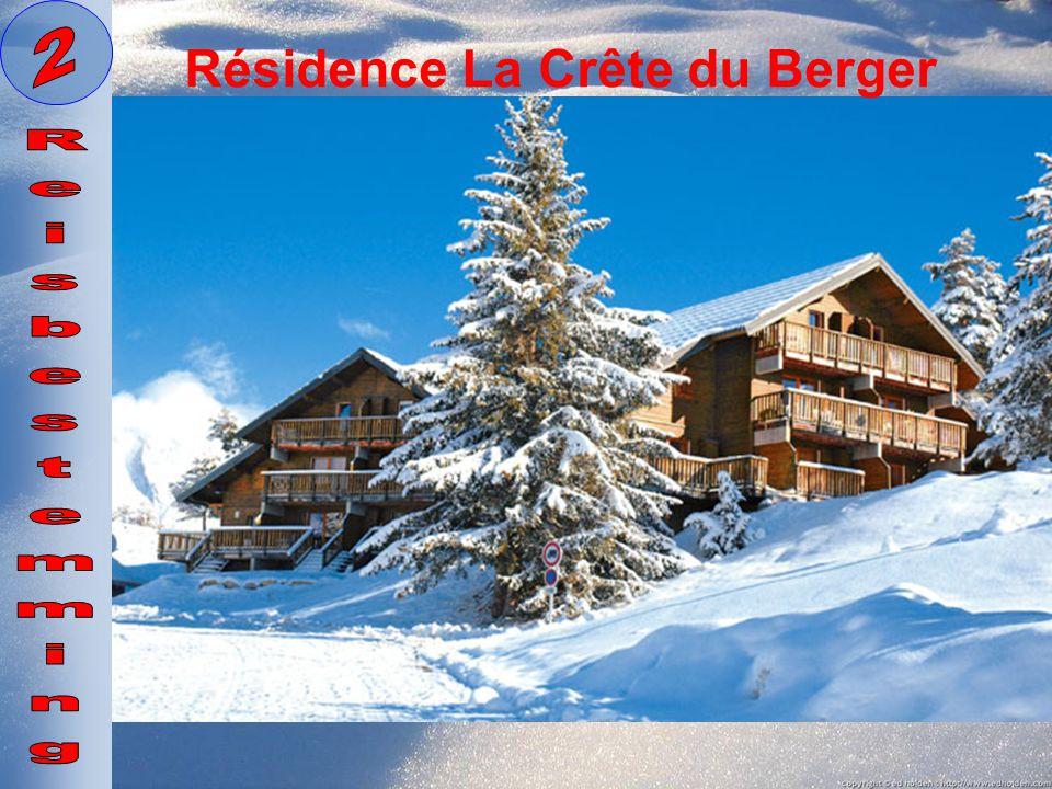 2 Résidence La Crête du Berger Reisbestemming