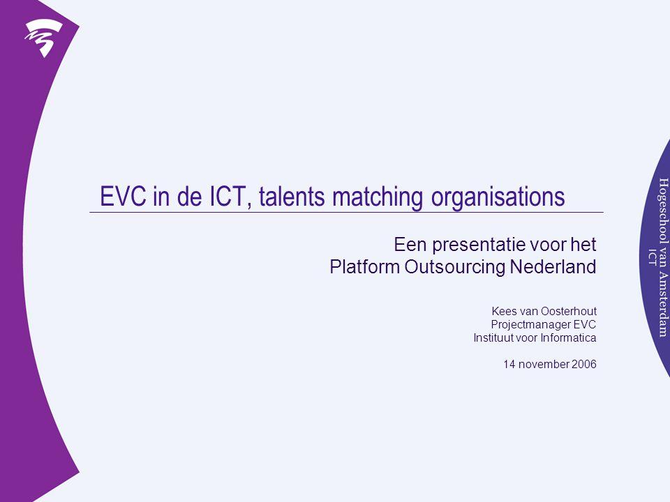 EVC in de ICT, talents matching organisations