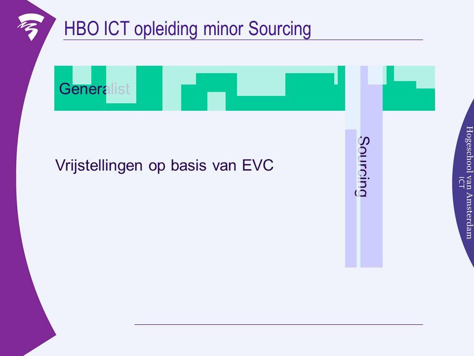 HBO ICT opleiding minor Sourcing