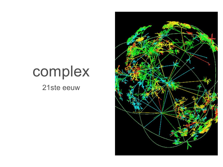 complex 21ste eeuw