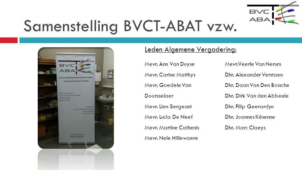 Samenstelling BVCT-ABAT vzw.