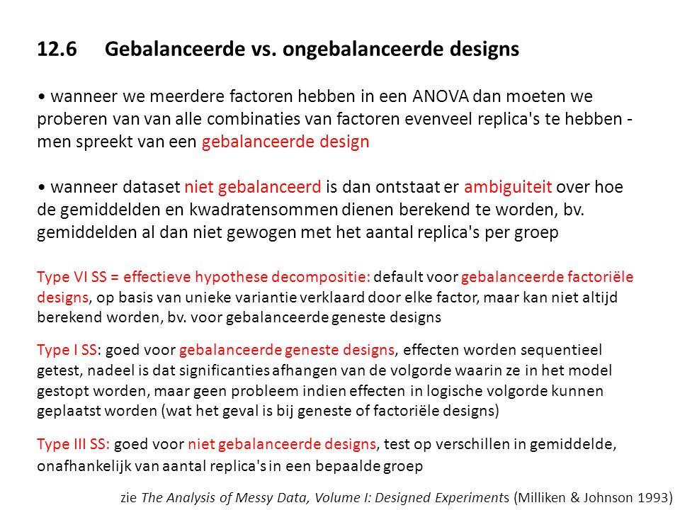 12.6 Gebalanceerde vs. ongebalanceerde designs